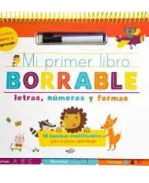 Mi primer libro borrable números y letras