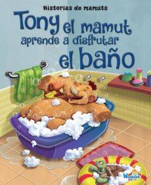 Tony el Mamut aprende a disfrutar el baño