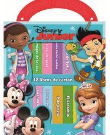 Biblioteca 12 libros Disney Junior