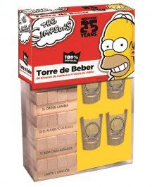 Torre del beber Los Simpson