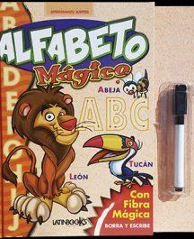 Alfabeto mágico libro borrable