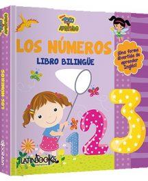 Los números libro bilingüe