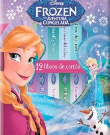12 libros de cartón Frozen