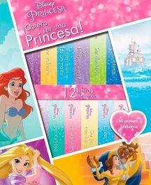 12 Libros quiero ser una princesa