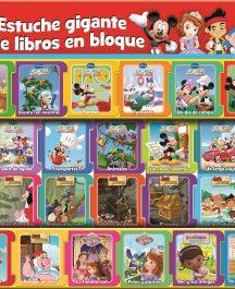 ESTUCHE GIGANTE DE 26 LIBROS EN BLOQUE DISNEY JR