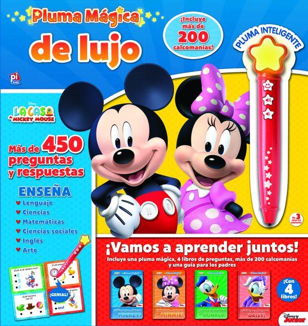 PLUMA MÁGICA DE LUJO LA CASA DE MICKEY