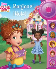 LIBRO TIMBRE ¡BONJOUR! ¡HOLA! FANCY NANCY CLANCY
