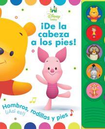 LIBRO SONORO DISNEY BABY WINNIE POOH ¡DE LA CABEZA A LOS PIES!