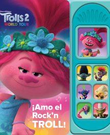 LIBRO SONORO TROLLS 2 ¡AMO EL ROCK'N TROLL!